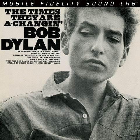 Bob Dylan - The Times They Are A-Changin' on Numbered Limited Edition Hybrid SACD from Mobile Fidelity - direct audio