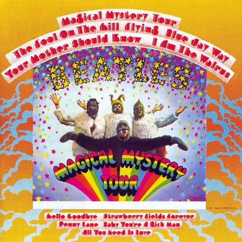 The Beatles - Magical Mystery Tour on 180g LP - direct audio