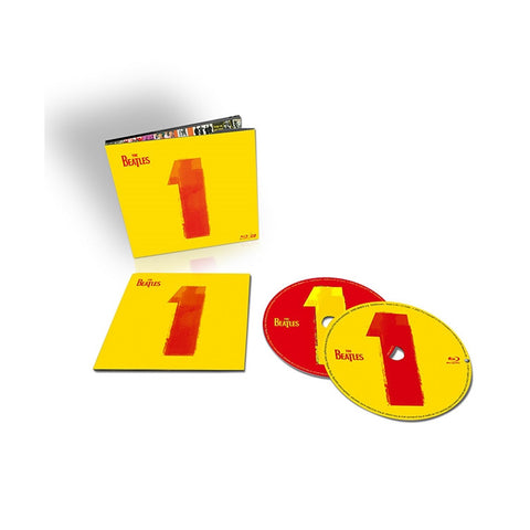 The Beatles - 1 on CD + Blu-Ray - direct audio