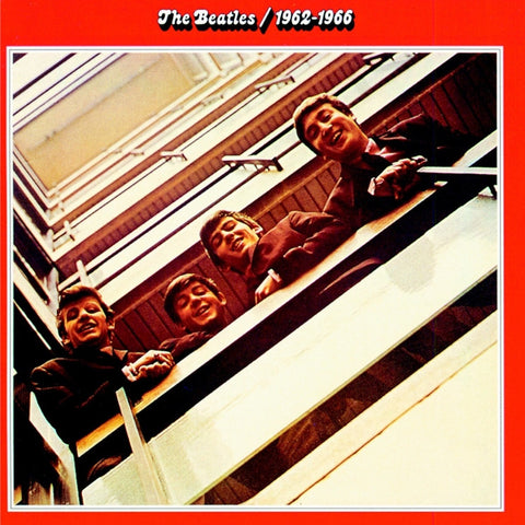 The Beatles - 1962-1966 (The Red Album) on 180g 2LP - direct audio