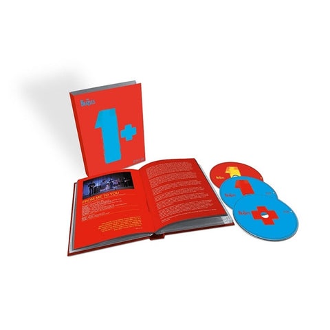 The Beatles - 1+ on Limited Edition CD + 2 Blu-Ray + 124-Page Book Box Set - direct audio