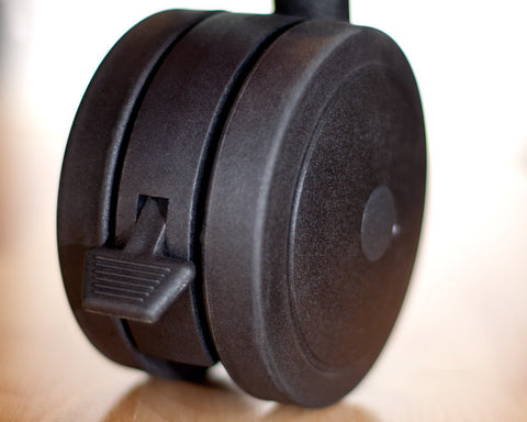 Salamander Designs - Archetype Dual Wheel Casters (Set of 4) - direct audio