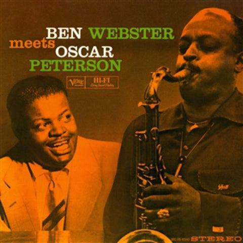 Ben Webster - Ben Webster Meets Oscar Peterson on 180g 45RPM 2LP - direct audio
