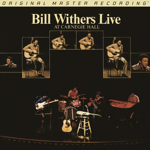 Bill Withers - Live at Carnegie Hall on Numbered Limited Edition 180g Vinyl 2LP from Mobile Fidelity - direct audio