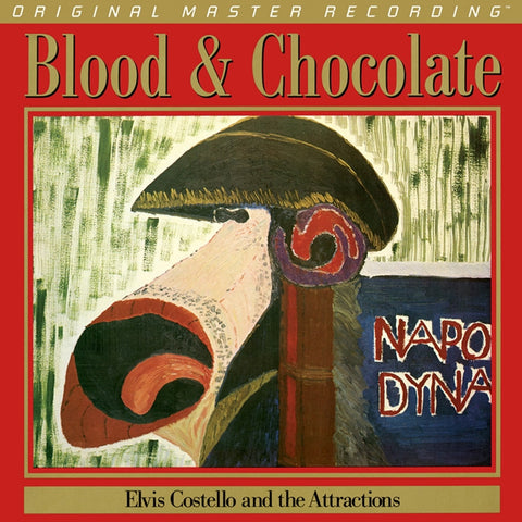 Elvis Costello - Blood & Chocolate on Numbered Limited Edition 180g LP from Mobile Fidelity - direct audio