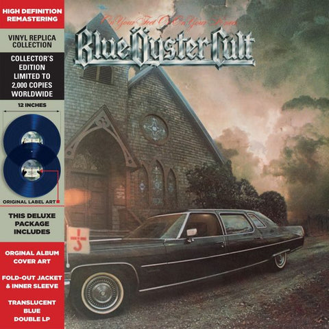 Blue Öyster Cult - On Your Feet or on Your Knees Colored Vinyl 2LP - direct audio
