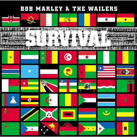 Bob Marley And The Wailers - Survival on 180g LP - direct audio
