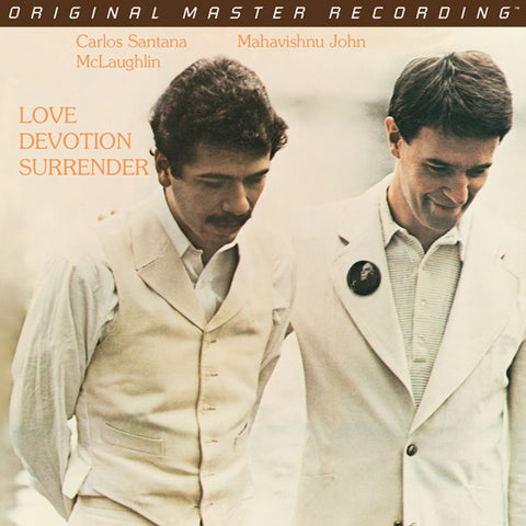 Carlos Santana and John McLaughlin - Love Devotion Surrender on Limited Numbered Edition Hybrid SACD from Mobile Fidelity - direct audio