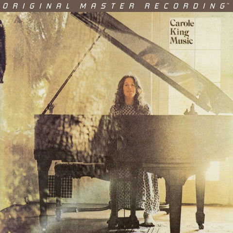Carole King - Music on Numbered Limited Edition 180g LP from Mobile Fidelity - direct audio