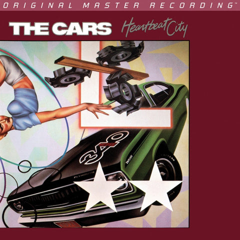 The Cars - Heartbeat City on Numbered Limited Edition 180g LP from Mobile Fidelity - direct audio