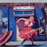 Cyndi Lauper - She's So Unusual on Numbered Limited Edition LP from Mobile Fidelity Silver Label - direct audio