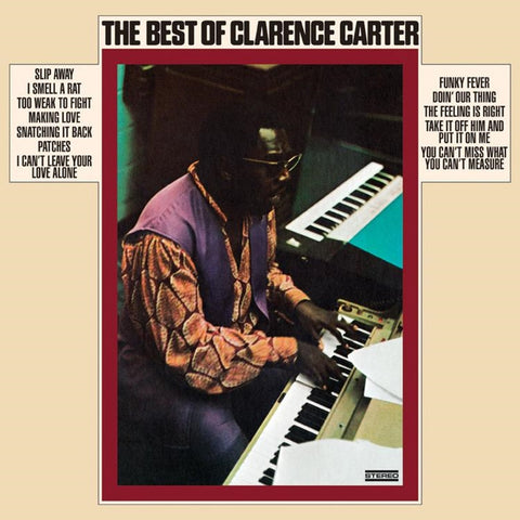 Clarence Carter - The Best Of Clarence Carter on Limited Edition 180g LP - direct audio