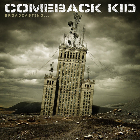 Comeback Kid - Broadcasting on LP + Download - direct audio