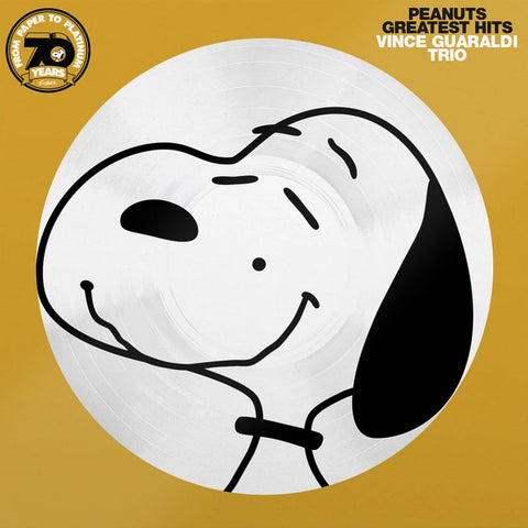 Vince Guaraldi Trio - Peanuts Greatest Hits 70th Anniversary Picture Disc Vinyl LP - direct audio