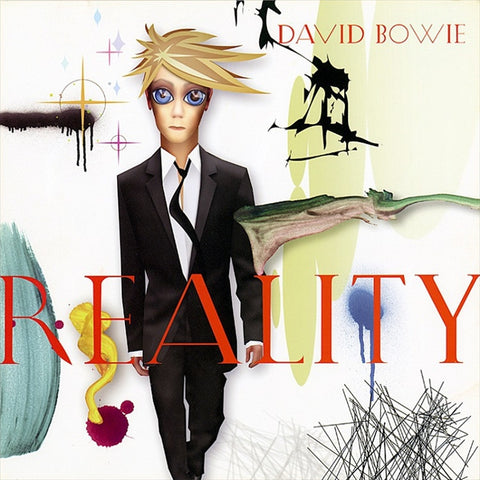 David Bowie - Reality Colored 180g Vinyl LP - direct audio