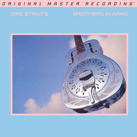 Dire Straits - Brothers in Arms on Numbered Limited Edition 180g 45RPM 2LP from Mobile Fidelity (Out Of Stock) - direct audio