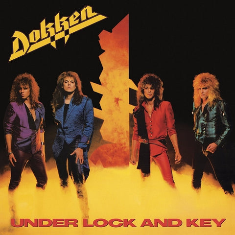 Dokken - Under Lock And Key on Limited Edition 180g LP - direct audio