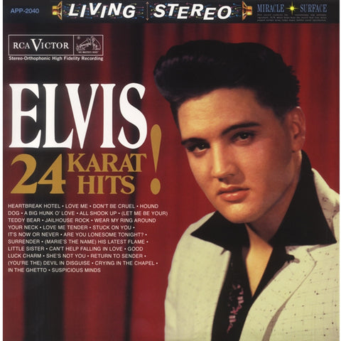 Elvis Presley - 24 Karat Hits 200g 45RPM 3LP - direct audio