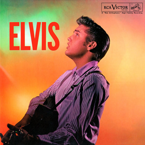 Elvis Presley - Elvis on Limited Edition 180g LP - direct audio