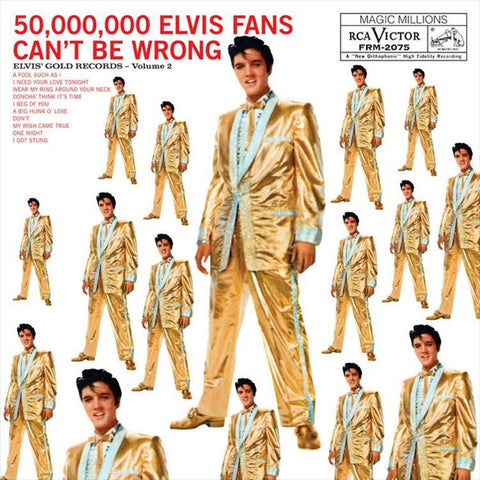 Elvis Presley - Elvis' Gold Records Volume 2 on Limited Edition 180g LP - direct audio
