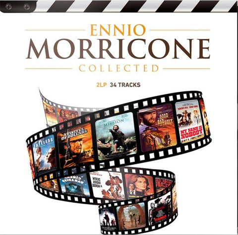 Ennio Morricone - Collected on Limited Edition Import 180g 2LP - direct audio