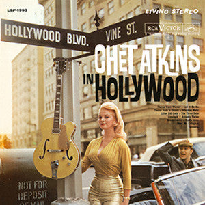 Chet Atkins - Chet Atkins In Hollywood 180g Import Vinyl LP - direct audio