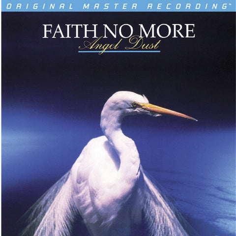 Faith No More - Angel Dust on Numbered Limited-Edition 24K Gold CD from Mobile Fidelity - direct audio