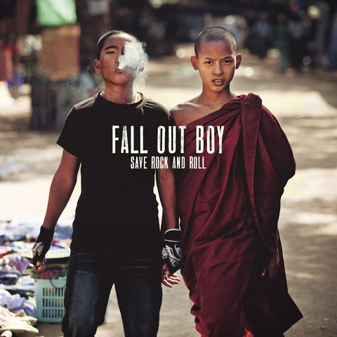 "Fall Out Boy - Save Rock And Roll on 10"" Vinyl 2LP - direct audio"