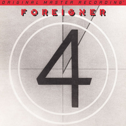 Foreigner - 4 on Numbered Limited Edition 180G Vinyl LP from Mobile Fidelity - direct audio
