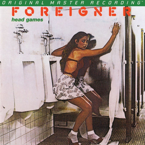 Foreigner - Head Games on Numbered Limited Edition 180g LP from Mobile Fidelity - direct audio