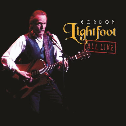 Gordon Lightfoot - All Live on Limited Edition 180g Vinyl 2LP - direct audio