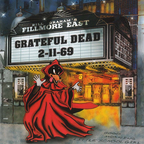 Grateful Dead - Fillmore East 2-11-69 on Limited Edition 180g Vinyl 3LP - direct audio