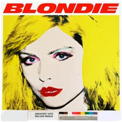 Blondie - 4(0) Ever: Greatest Hits Deluxe Redux / Ghosts Of Download on Colored 2LP + DVD + Download - direct audio