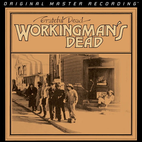 Grateful Dead - Workingman's Dead on Numbered Limited Edition 180g 45RPM 2LP Set from Mobile Fidelity (Out Of Stock) - direct audio