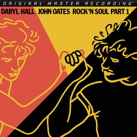 Hall and Oates - Rock 'n Soul Part I on Numbered Limited Edition Hybrid SACD From Mobile Fidelity - direct audio
