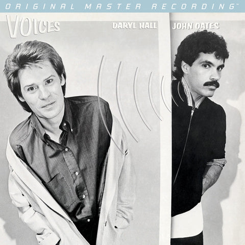 Hall and Oates - Voices on Numbered Limited Edition Hybrid SACD from Mobile Fidelity - direct audio
