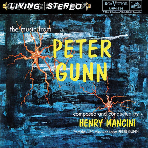 Henry Mancini - Music from Peter Gunn on 180g Import LP - direct audio - 1
