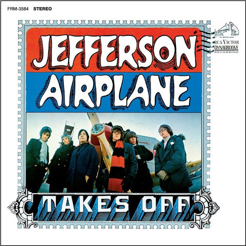 Jefferson Airplane - Takes Off Colored 180g Vinyl LP - direct audio