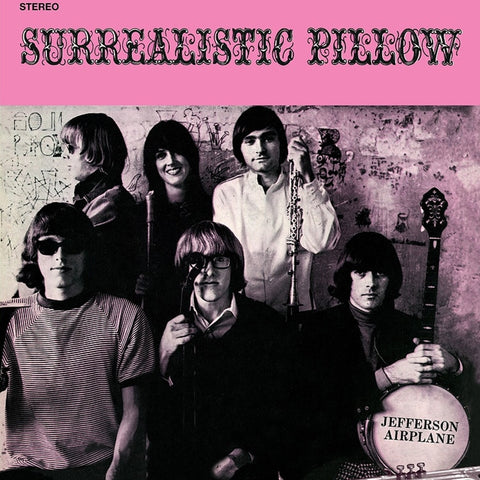 Jefferson Airplane - Surrealistic Pillow on Limited Edition Colored 180g LP - direct audio