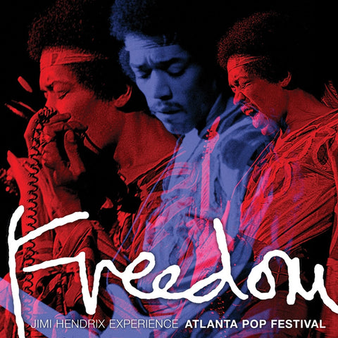 Jimi Hendrix - Experience Freedom: Atlanta Pop Festival 200g Vinyl 2LP - direct audio