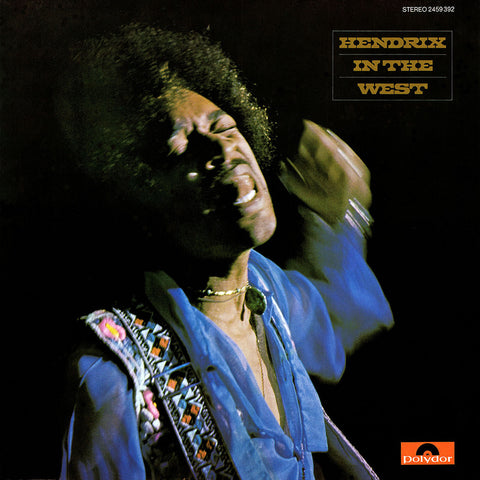 Jimi Hendrix - Hendrix In the West on 180g 2LP - direct audio - 1