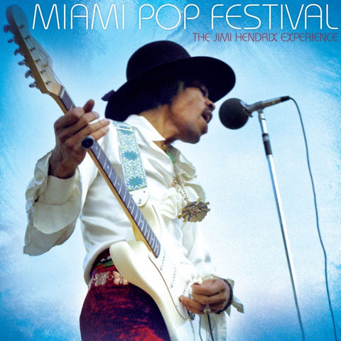 Jimi Hendrix - Miami Pop Festival on Numbered Limited Edition 200g 2LP - direct audio