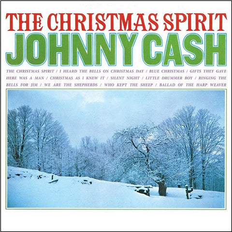 Johnny Cash - The Christmas Spirit on Limited Edition Colored 180g Vinyl LP - direct audio