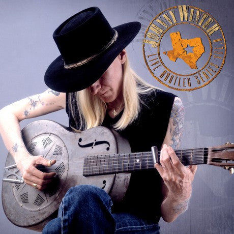 Johnny Winter - Live Bootleg Series Vol. 8 on Limited Edition 180g White 2LP - direct audio