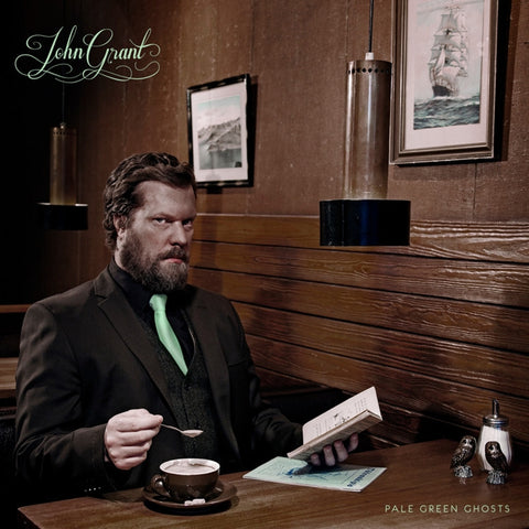John Grant - Pale Green Ghosts on White Colored Vinyl 2LP + Download - direct audio