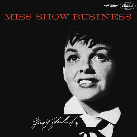 Judy Garland - Miss Show Business on 180g LP - direct audio - 1