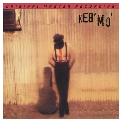 Keb' Mo' - Keb' Mo' on Numbered Limited Edition 180g LP from Mobile Fidelity - direct audio