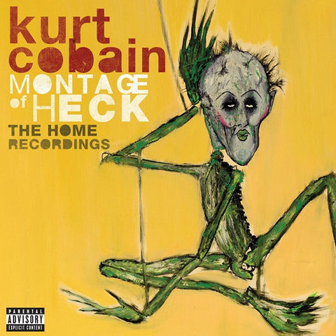 Nirvana Kurt Cobain - Montage Of Heck: The Home Recordings on 180g 2LP + Download - direct audio