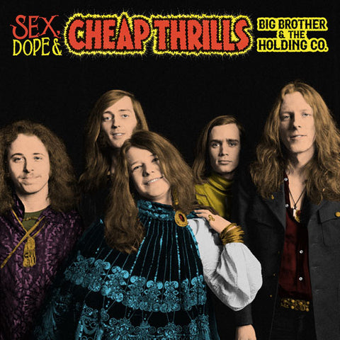 Big Brother and the Holding Company with Janis Joplin Sex Dope & Cheap Thrills Vinyl 2LP