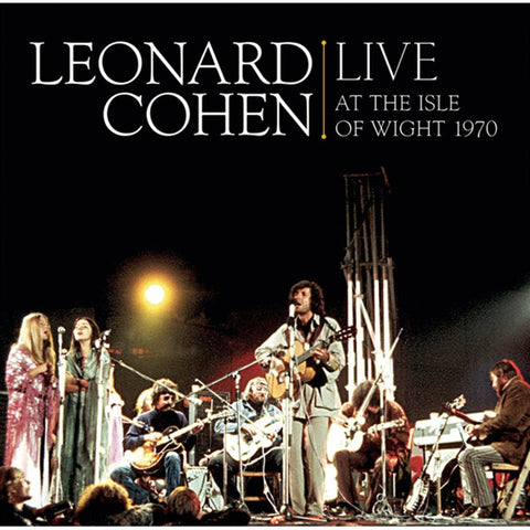 Leonard Cohen - Live At The Isle Of Wight 1970 on 180g Vinyl 2LP Set - direct audio